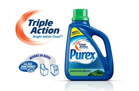Amostra Gratis Detergente Líquido Purex UltraPacks