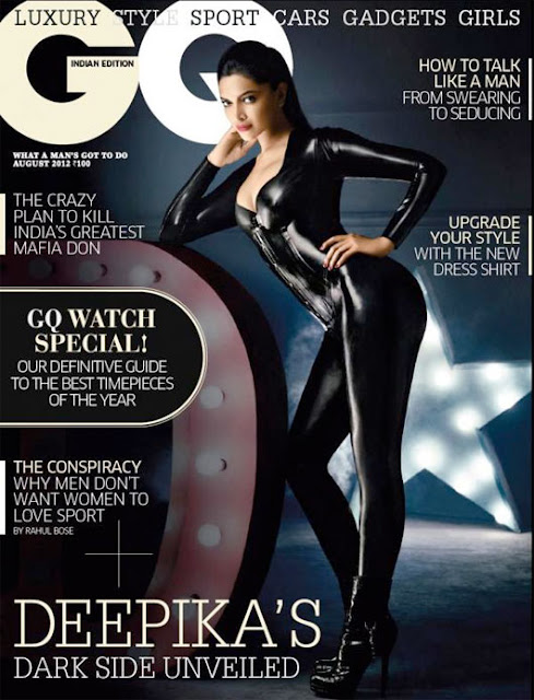 Deepika Padukone on GQ Cover Magazine - August Issue