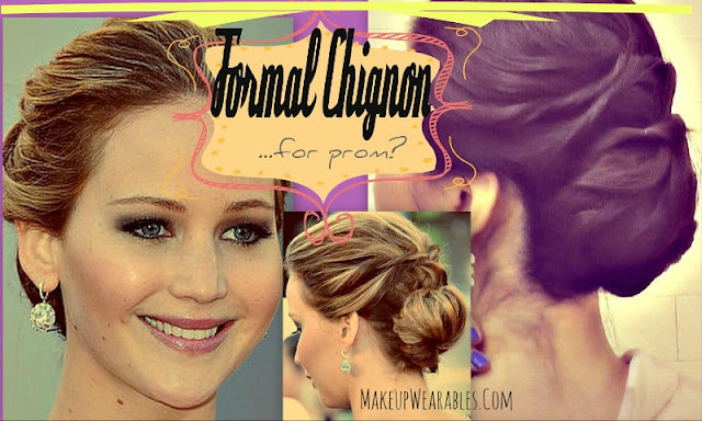 ★ JENNIFER LAWRENCE OSCARS HAIR TUTORIAL |  | EASY FORMAL HAIRSTYLES FOR WEDDING OR PROM