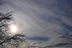 Blendend weiße Sonne...