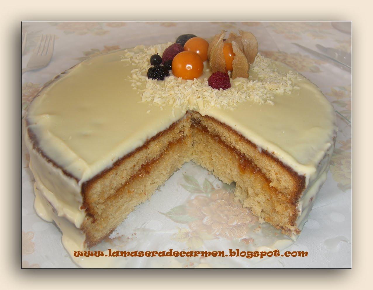 Baño Chocolate Blanco Para Tartas:La masera: Tarta de chocolate blanco y yogur