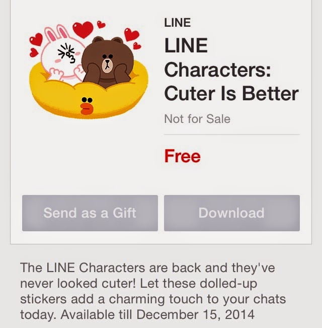 LINE Characters: Cuter Is Better