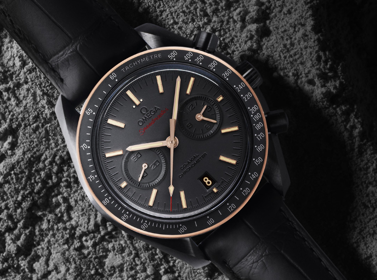 Omega Speedmaster Dark side of the Moon Sedna Black