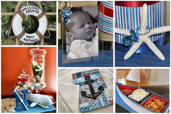and baby shower invitations share nautical baby shower theme ideas