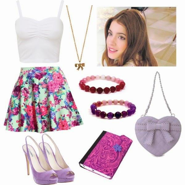 Todo Sobre Violetta Looks Violetteros Nuevo Blog