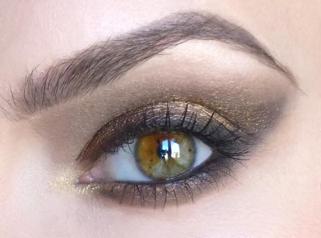 Golden coffee - makijaż mineralny