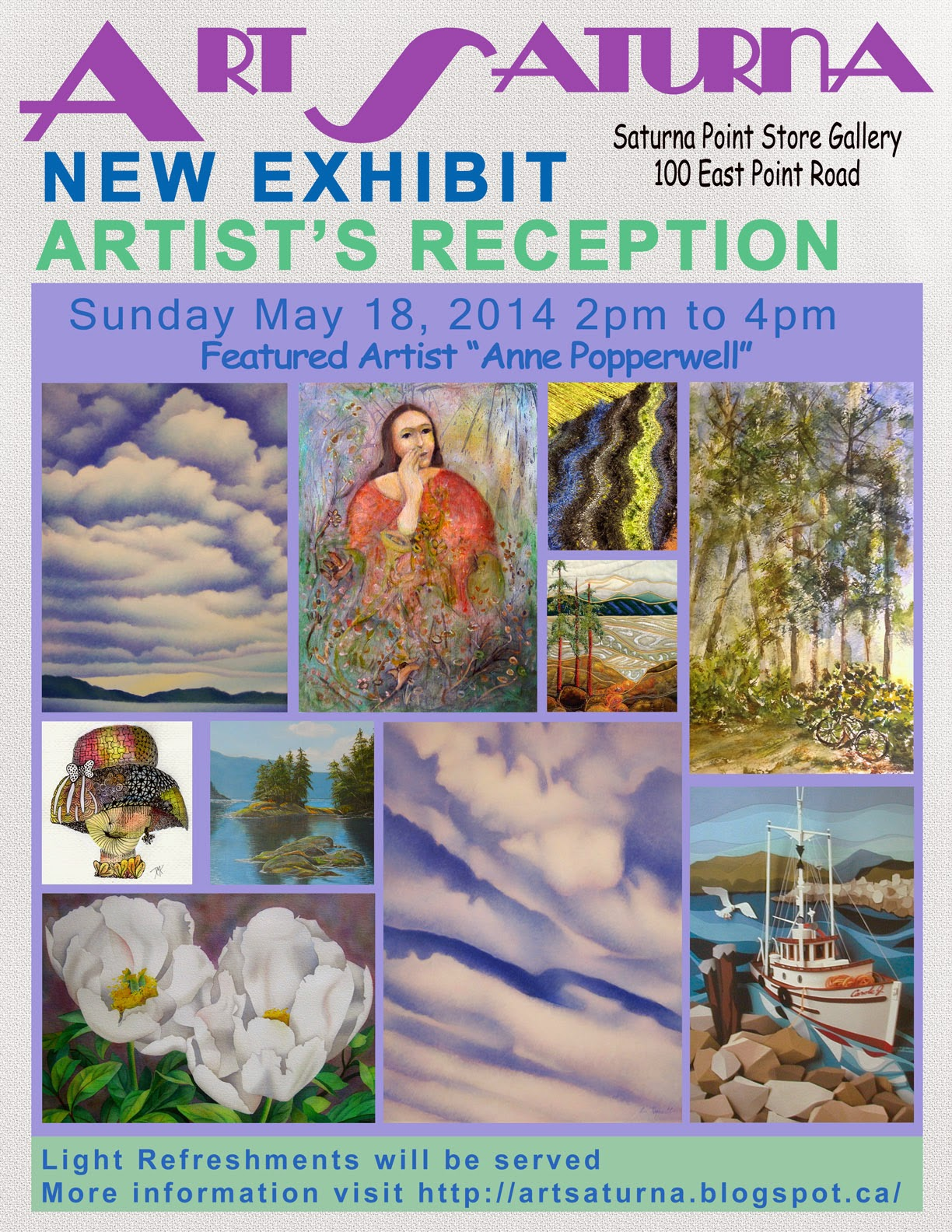 ArtSaturna New Exhibit