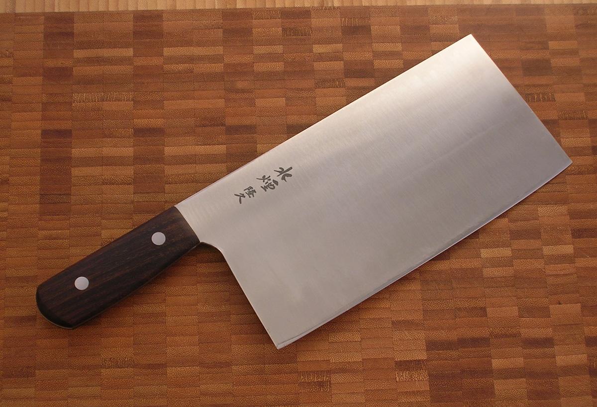 Salvatore lo leggio tou il coltello cinese due culture - Coltello da cucina ...
