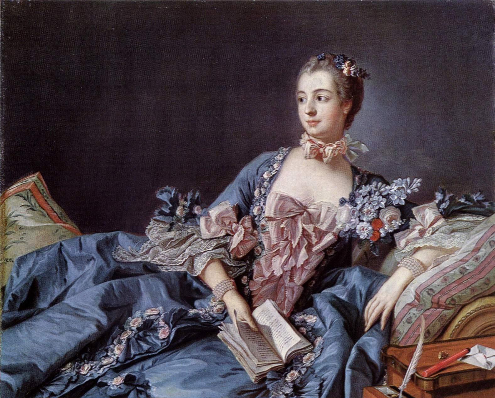 Madame De Pompadour Boucher