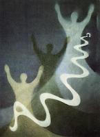 "Obra: ""Apocalipsis 23: Alfa y Omega"" Pintora: Anneke Kaai, 1989"