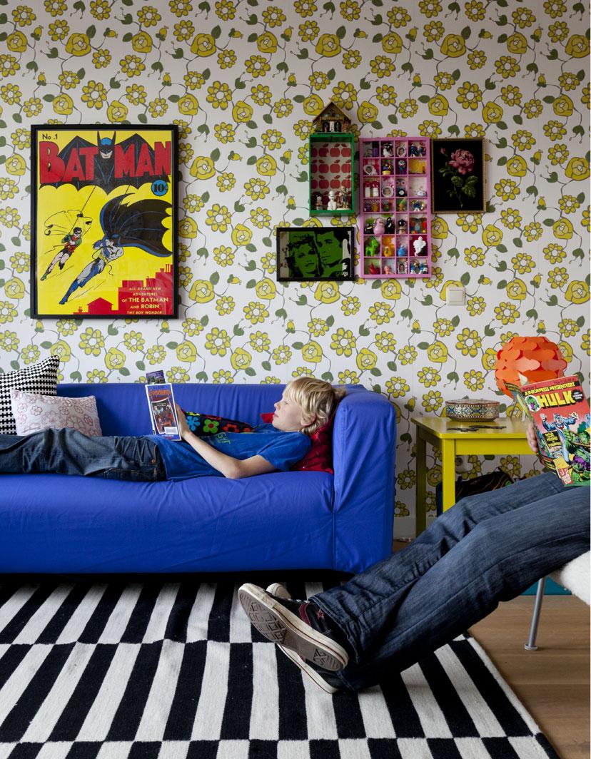 Hudson baby design the theme room comic book - Comic themed bedroom ...