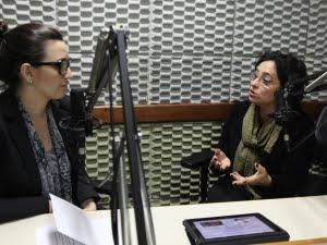 Márcia Cáspary - audiodescritora