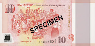 Dollar Singapore Baru Peringati SG50