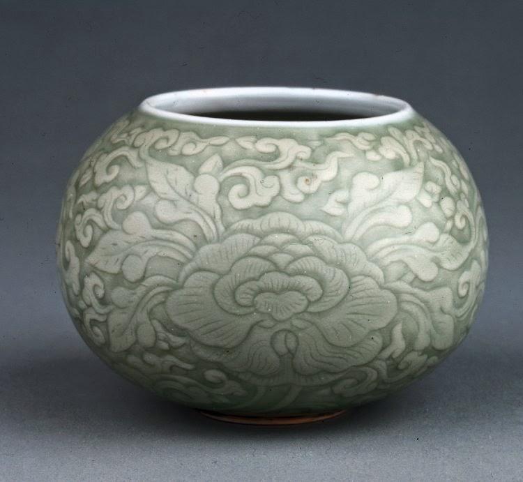 """<img src=""""water-jar.jpg"""" alt=""""Qing Kangxi Celadon"""">"""