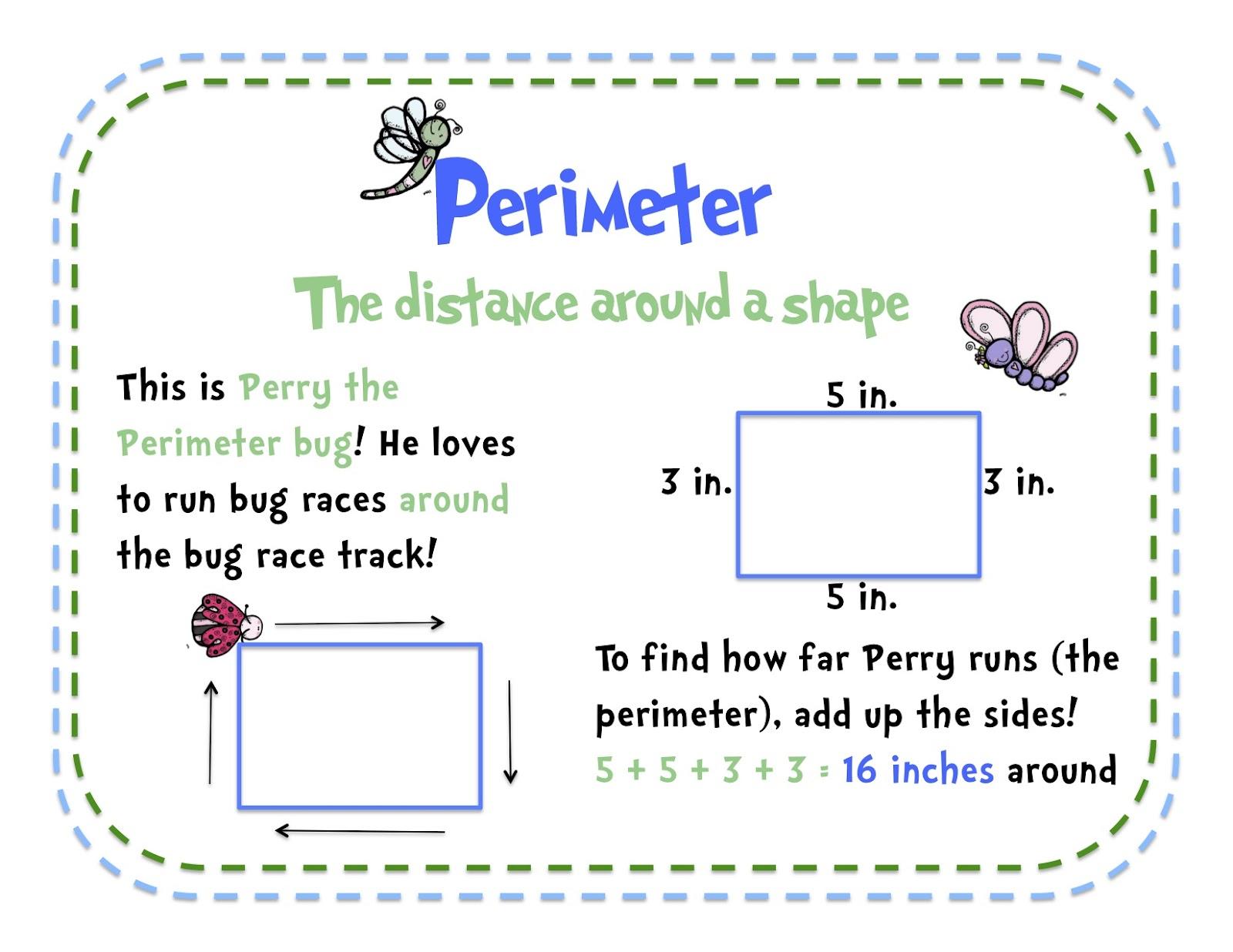A Teacher's Idea: Teaching Area And Perimeter