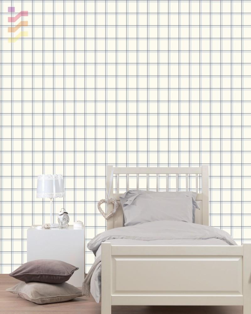 tapeta sypialniana, aranżacja