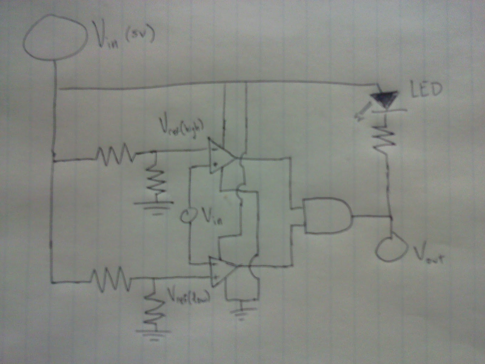 Initial Comparator Circuit Tsae Project The Schematic For Lm339 Quad Voltage A Diagram Of I Tested Let Me Know If You See Something Obvious