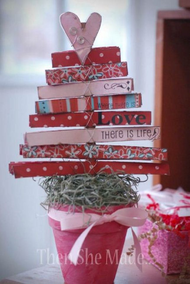Valentine 39 s decoration crafts and decor for Valentine home decorations
