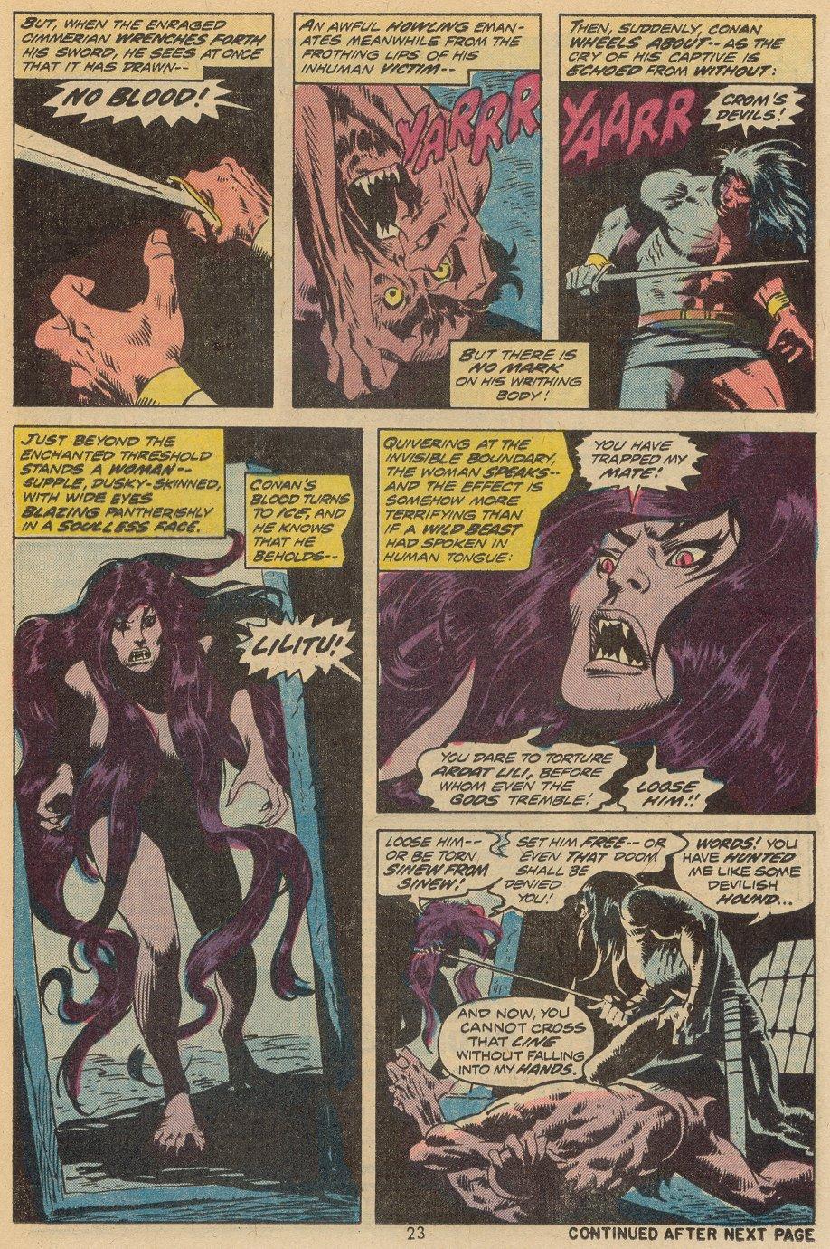 Conan the Barbarian (1970) Issue #38 #50 - English 17
