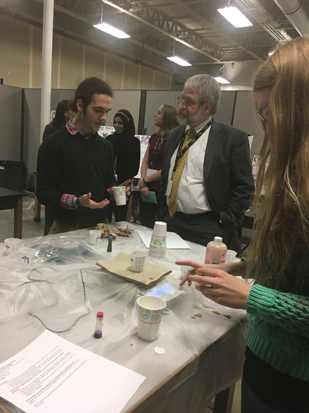 Ohio State Superintendent And Board Member Visit Dayton Regional STEM School