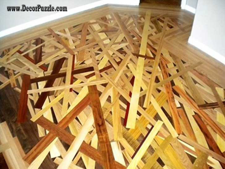 Creative Wooden Flooring, Unique Flooring Ideas Options