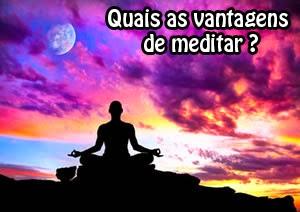 as vantagens de fazer meditação