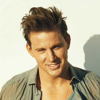CHANNING TATUM HAIRSTYLES - MESSY SPIKY HAIR