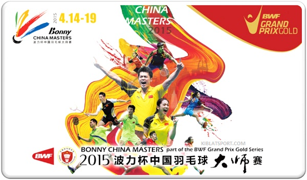Jadwal Hasil Final China Masters Grand Prix Gold 2015