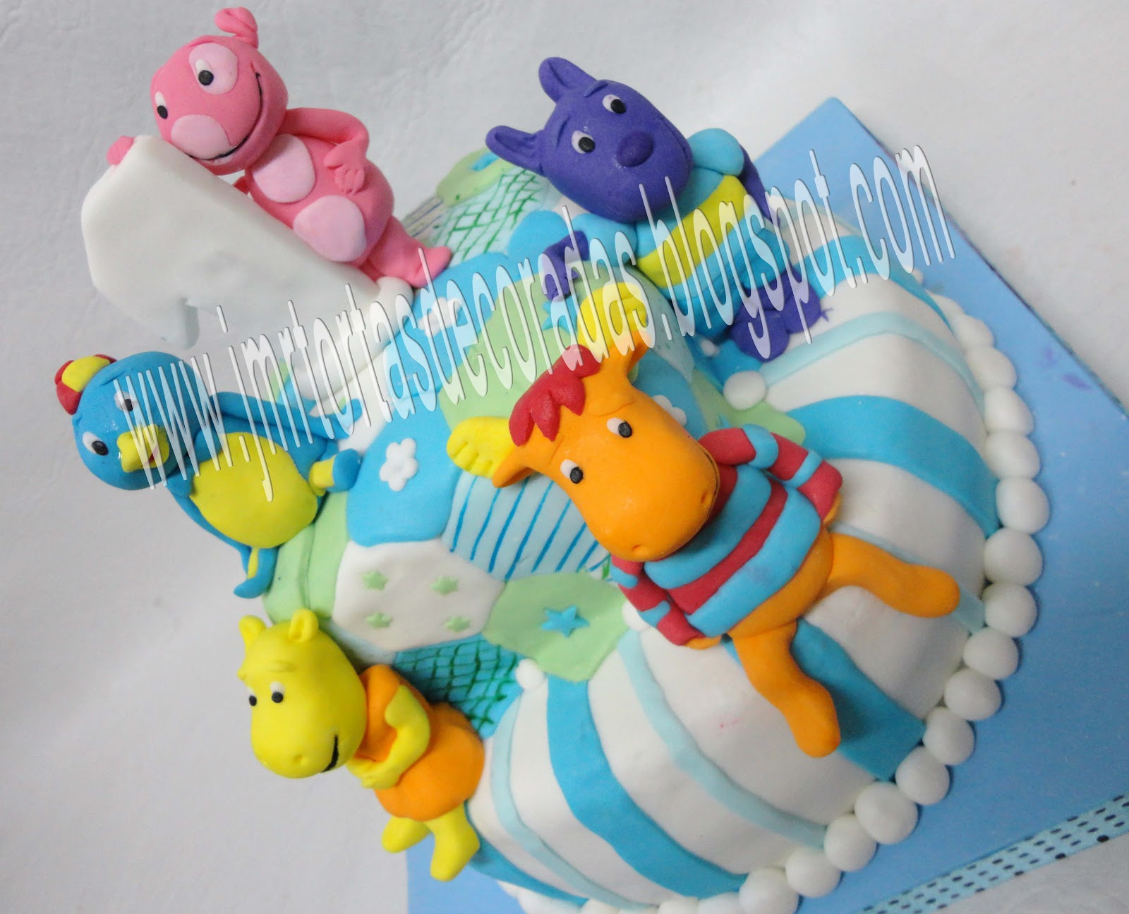 Torta Backyardigans Jmr Tortas Decoradas