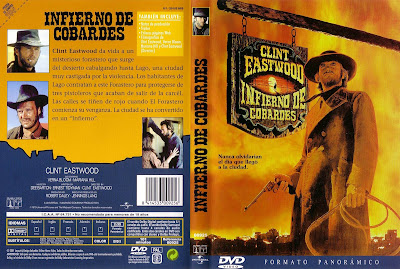cover, caratula, dvd: Infierno de cobardes | 1972 | High Plains Drifter