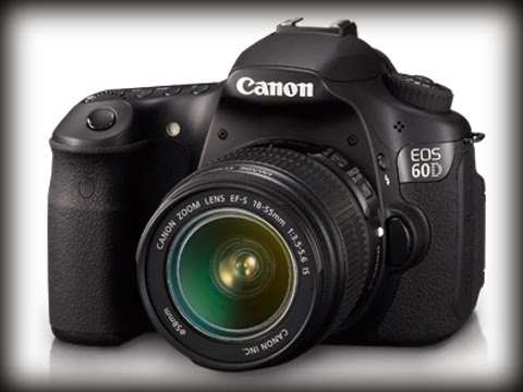 Review, Spesifikasi dan Harga Kamera DSLR Canon EOS 60D