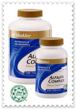 keputihan vs alfalfa shaklee