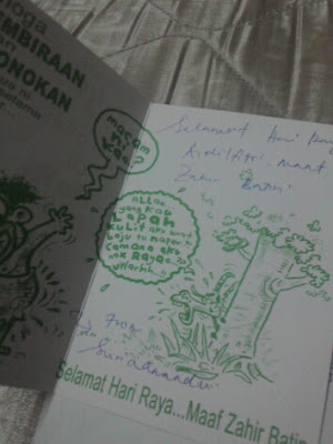 #CABARAN20HARI, NOSTALGIA KAD RAYA, suria amanda, blogger