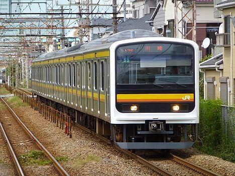 南武線 川崎行き 209系