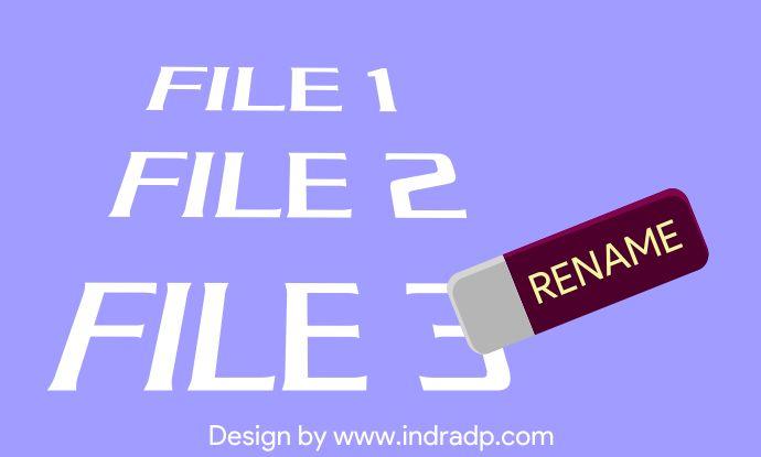 Rename file