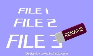 3 Cara Mengubah Nama Banyak File Sekaligus Di Windows Tanpa Software
