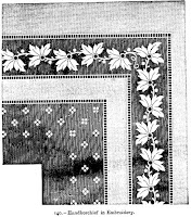 Handkerchief in Embroidery