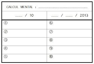 Evaluation calcul mental ce2 - Calcul cm1 a imprimer ...