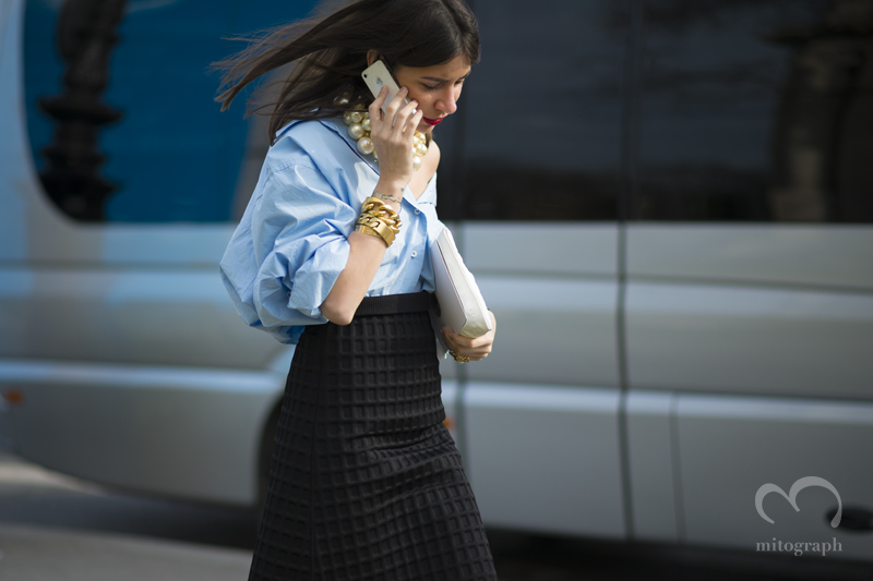 mitograph Natasha Goldenberg Before Chanel Paris Fashion Week 2013 2014 Fall Winter PFW Street Style Shimpei Mito