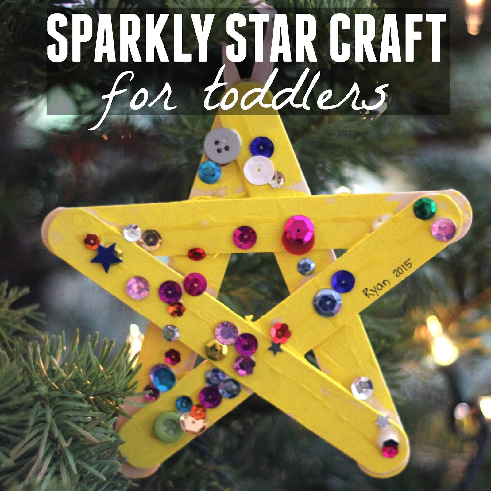 I Have Hundreds Of Craft Sticks And Sequins So Decided To Put Together A Quick Sparkly Star Activity For My Class Do Today