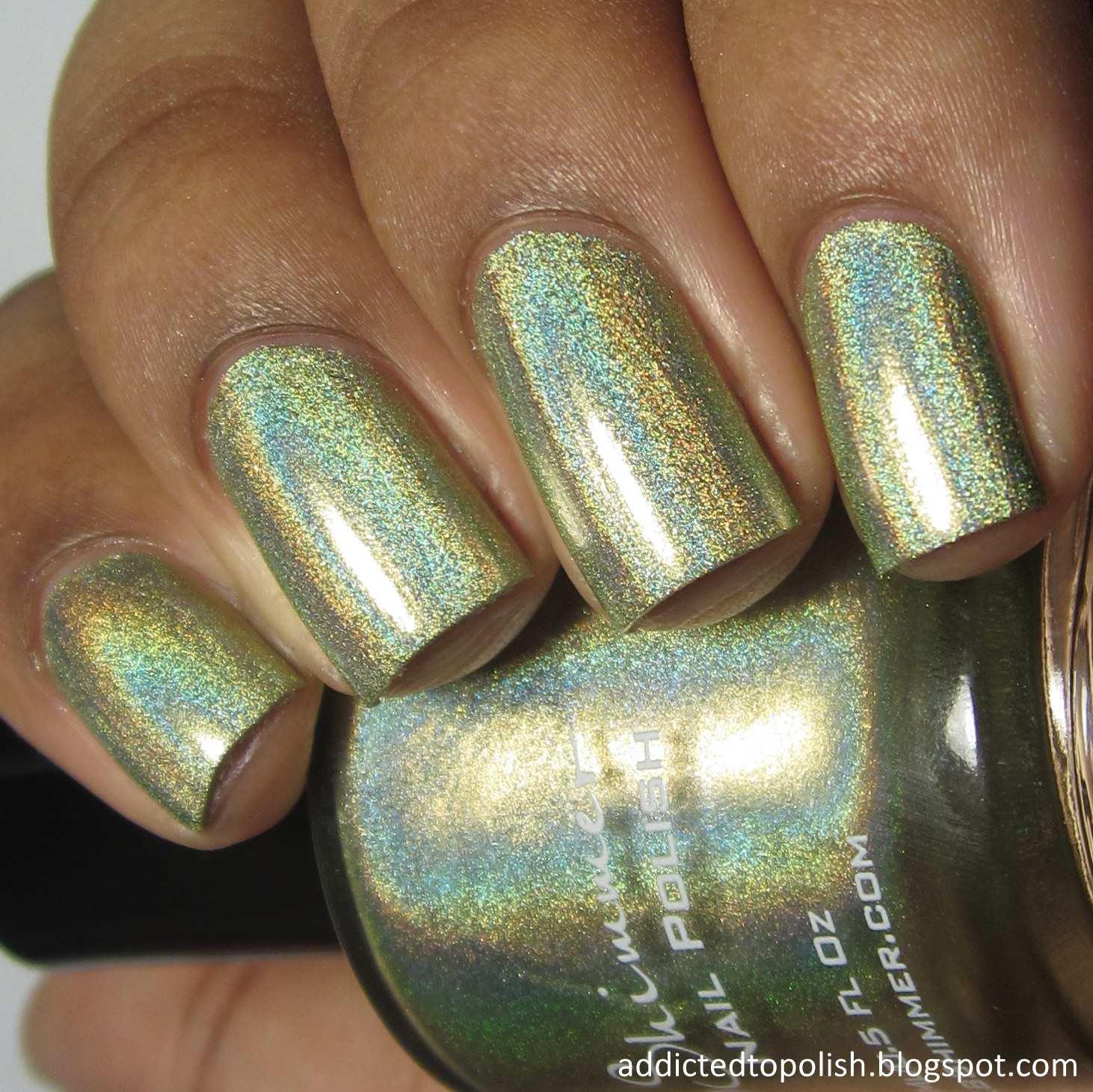 KBShimmer Ins and Sprouts Spring 2015 green holo