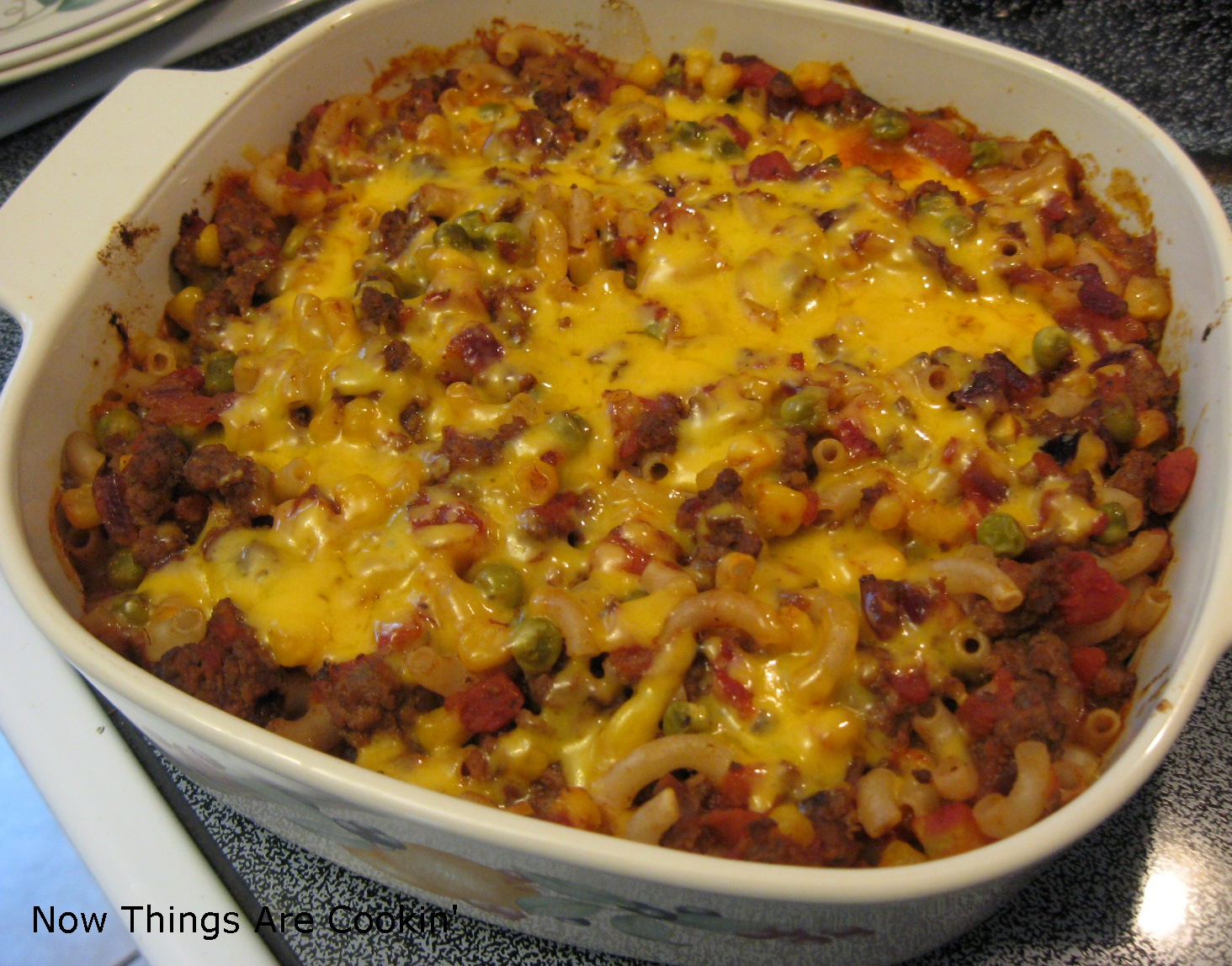 ... ': Making the Best of Things - Hamburger Macaroni Casserole - Recipe