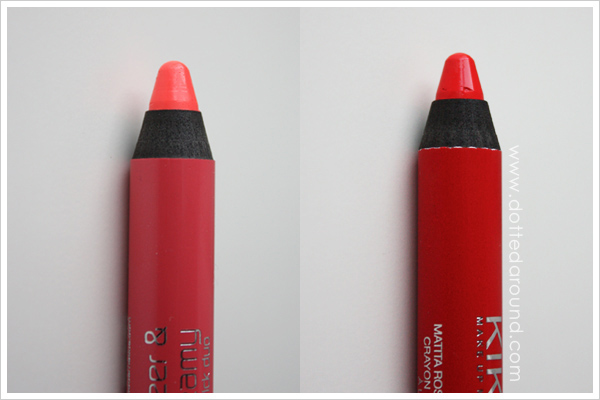 Kiko lipstick gloss duo Blooming Origami 03