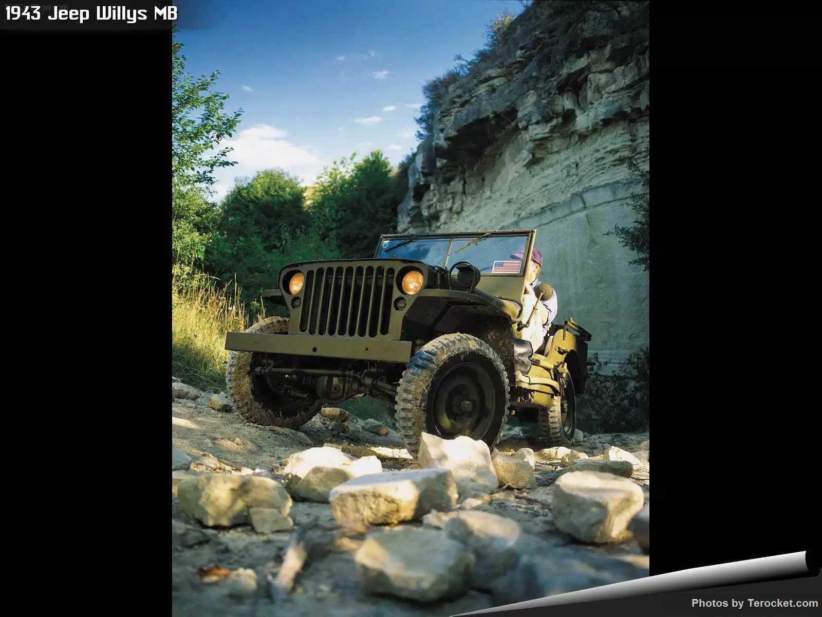 Hình ảnh xe ô tô Jeep Willys MB 1943 & nội ngoại thất