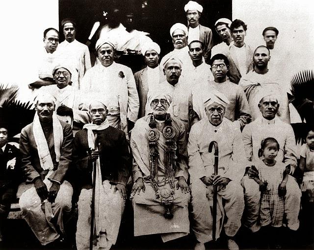 Srila Prabhupada with Saraswati Thakur Maharaj