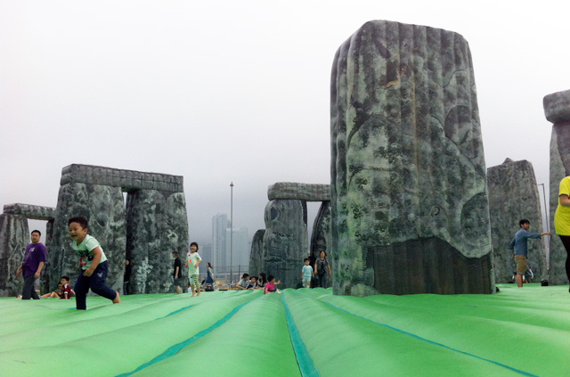 Stonehenge in West Kowloon HK