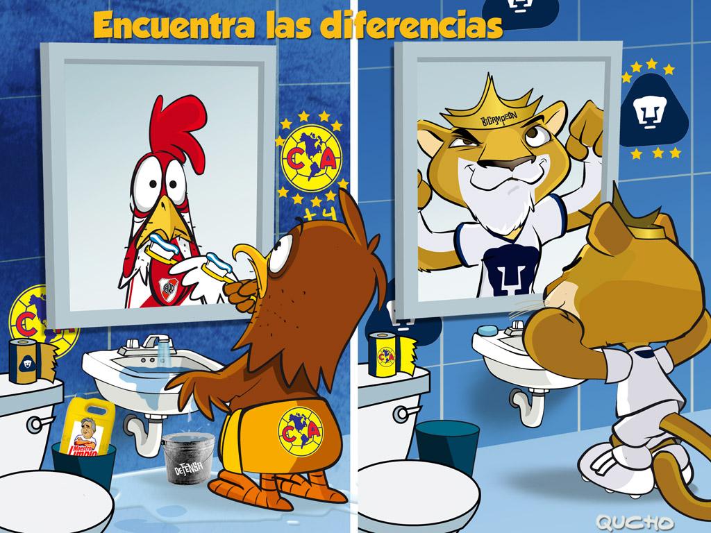 Pumas vs América en imagenes + Yapa