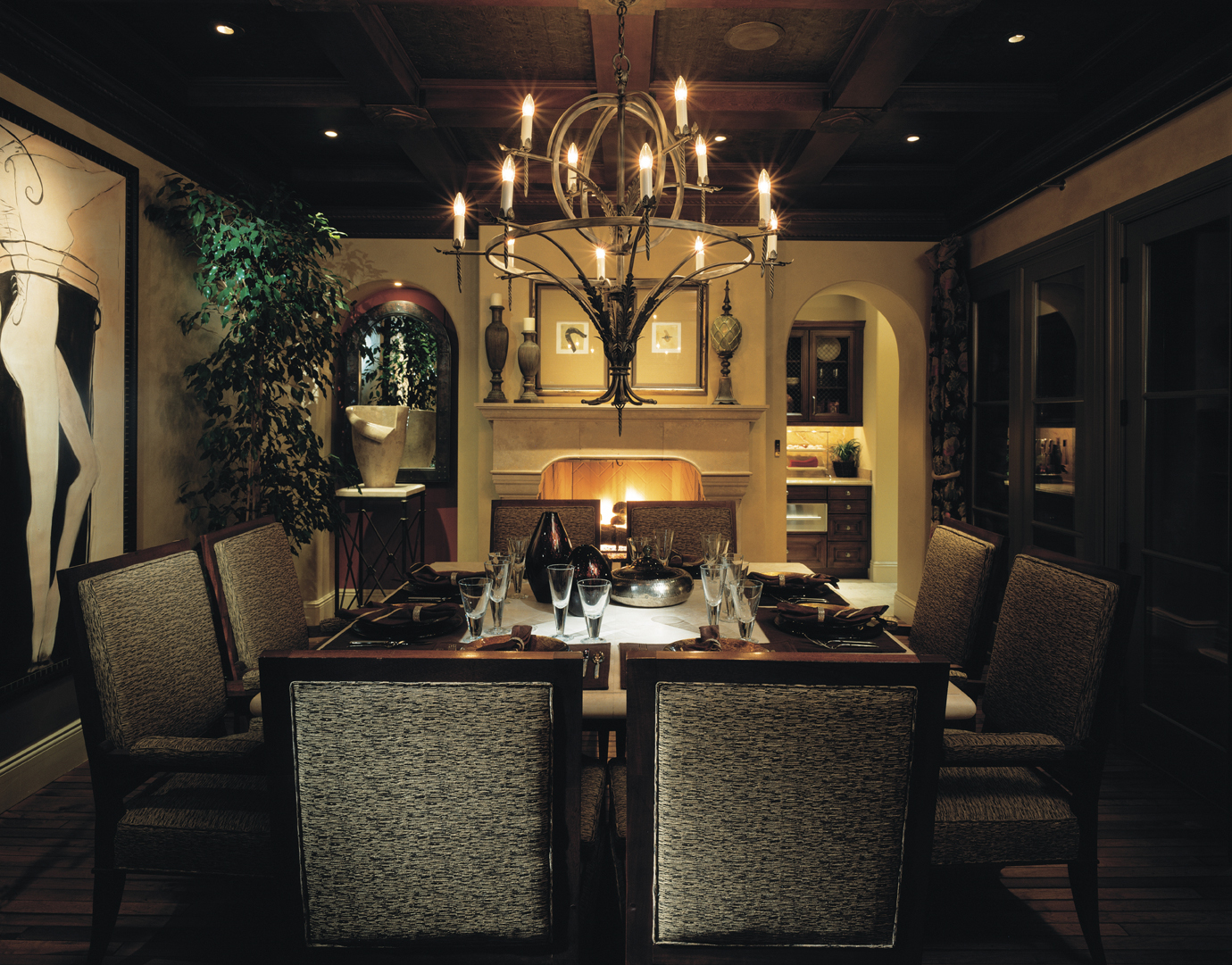 Home Interior Designs The Options For Dining Room Lighting
