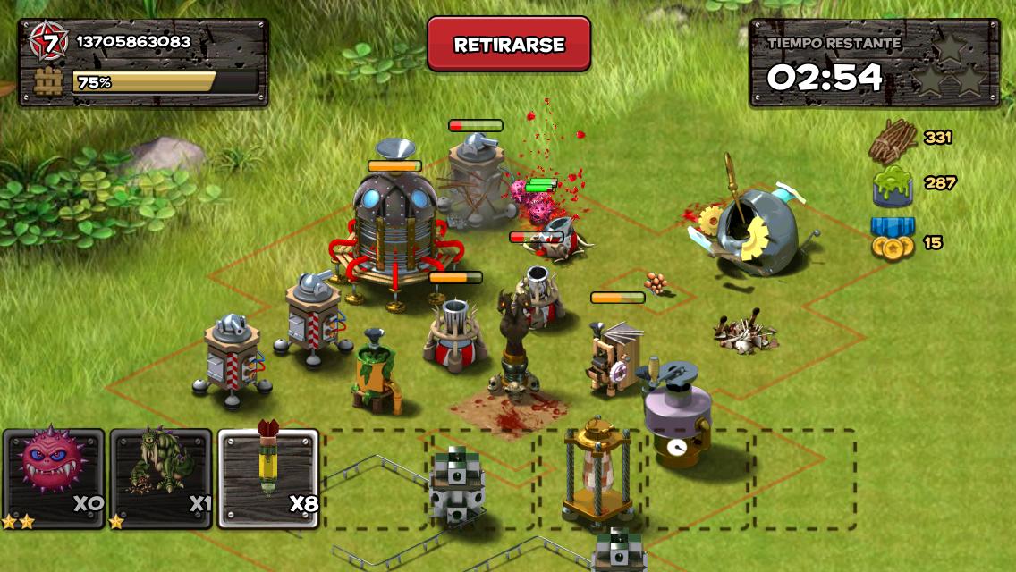 Jugando a Blackyard Monsters