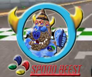 beast in a car spoodbeest logo